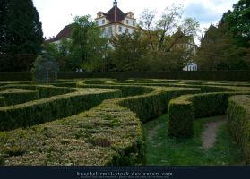 The Maze 02 by kuschelirmel-stock