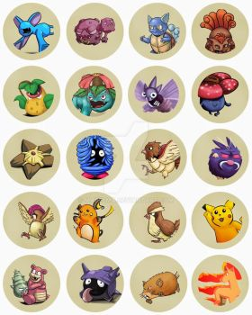 PokePins1 by Mabelma
