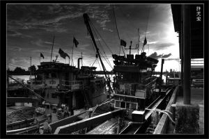 Fishing Vessels by limecity