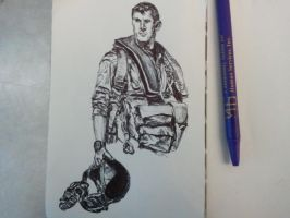Ballpoint Sketch 10 by danebrown