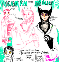 The tenants. Norman and mr.alice by Improperstories