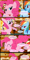 PinkiePie Loves Teasing Dashie by kikithewolf64