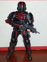 halo 3 odst custom -outcasts trooper- by REDNOBLE6