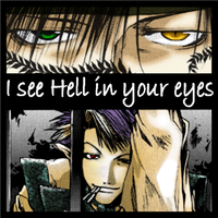 I see Hell in your eyes by Youkai-ChoGonou