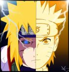 Father and Son (Minato and Naruto) color by Ayame-Senpai