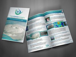 Brochure design realestate by SiyanaDimitrova