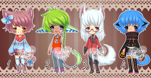 Set Price Batch (CLOSED) PRICE REDUCED by Kariosa-Adopts