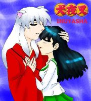 Inuyasha and Kagome by my-anime-love
