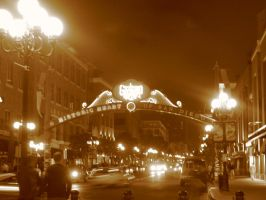 Gas Lamp District by A-n-t-i-g-o-n-e