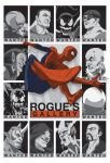 Rogue's Gallery BW by paco850