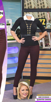 Carrie Keagan Standing Over Herself by wrohrer