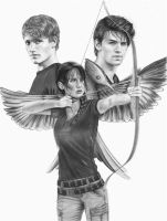 I am the Mockingjay by MShah123