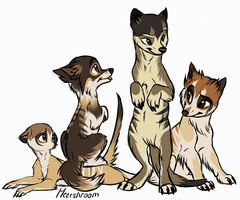 Meerwolfies by blackunia