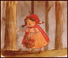 Red Riding Hood by SaintMaria666