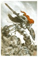 Red Sonja commission 18 by Xenomrph