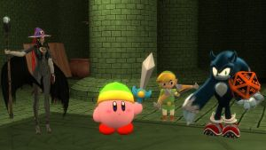 Kirby and Friends: Dungeons and Dragons by SuperKirbyFan1234