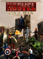 Marvel: Civil War by Tony-Antwonio
