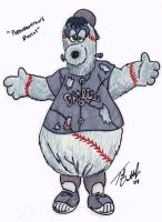 Phillie Phanatic - Concept Art by tdastick