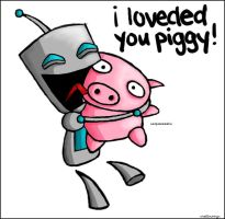 I Loveded You Piggy by Valyrei