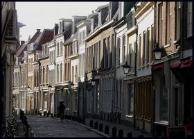 Just a street in Utrecht by Esperimenti