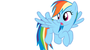 Rainbow Dash Vector by MIeLZSimmonS