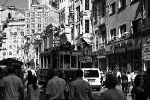 Istiklal caddesi by BloodStainedKid