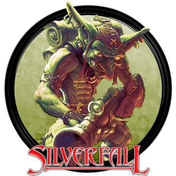 Silverfall Dock Icon by courage-and-feith