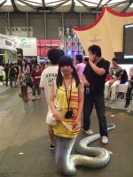 Snakegirl in ChinaJoy by jaserzhang