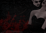 Vampire!Wesker Wallpaper by kuranszo