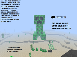 Omfg Queen Creeper by MMDGLaDOS