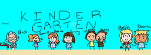 Kindergarten - Rick and morty by Cupcake-Angels