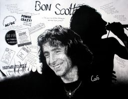 Bon Scott by GoldenYears