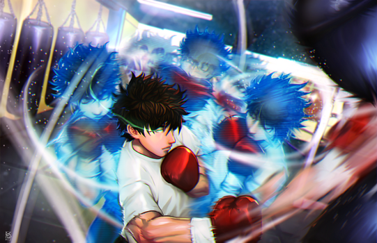 Ippo's Training by EricMartinDOOD