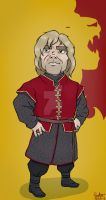 Tyrion Lannister Fan art by JustGabs