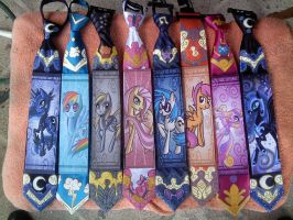 RaptorART Pony ties V. 6 by raptor007