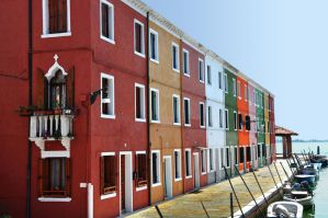 Colorful Fishermen Houses by paypouy