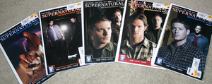 WOO Supernatural Comic Books by KasaraWolf