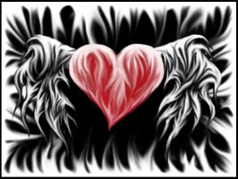 winged heart by ditzy