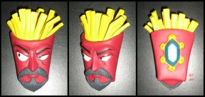 Frylock Sculpture by BThomas64