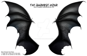 Dragon Wings 01 - Commercial Download by Thy-Darkest-Hour