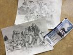 SIGNED drawings x3 by EvanescentOceans