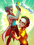 Rick And Morty by Alimika