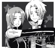 Allen and Kumi by ROSEL-D