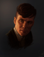 Cillian Murphy as Tommy Shelby by Sargt