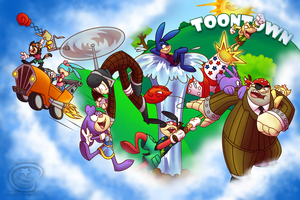 Welcome to the Toontown Party by Piranha2021