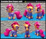010 Custom Show Stopper Scootaloo by ELJOEYDESIGNS