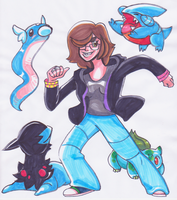 12 DAY POKEMON DRAWING CHALLENGE DAY 3 by Lemguin