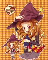 Cute Hermione by Danime-chan
