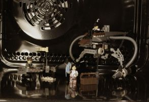 LEGO goes steampunk by Feinobi