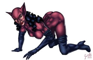 Catwoman Knightfall by JosFouts